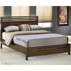 Modus Furniture 6M35F5 Uptown Platform Bed Queen Mahogany * For more information, visit image link.