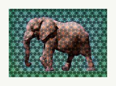 Yellow Elephant by TrxtrSigned limited edition archival pigment x 61 cms.On acid free 310 gsm paperEdition of shipping worldwide Dark Side, The Darkest, Elephant, Urban, Yellow, Artist, Free, Painting, Artists