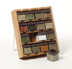 Really fantastic looking spice rack