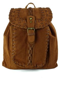 Chicwish Camel Knit Backpack, I need this