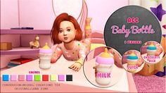 Sims 4 CC's - The Best: Baby Bottle by Miguel Creations