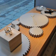 gears - great for industrial-looking jewelry