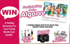 Win A Holiday Giveaway For Your Family Worth Over £4,000