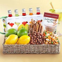 Margarita Entertaining Fruit Gift Basket