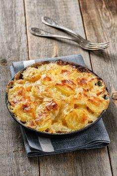 So einfach ist Kartoffelgratin! #rezepte #kartoffeln #gratin