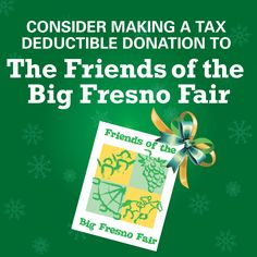 Do you have additional budget dollars to spend? Consider making a tax deductible donation to the fair's non-profit Foundation, Friends of the Big Fresno Fair! Your dollars will help support educational programs and preservation of our county's rich history. Want to donate? Please contact Lauri King at lking@fresnofair.com #BigFresnoFair #DonateToday