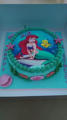 149 Best Little Mermaid Birthday Cake Images Birthday Cakes