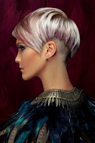 Stunning colors for short and medium hair!
