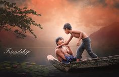 This time I am going to create a photo manipulation with completely real scene in Photoshop CC.
