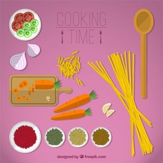 Cooking time Free Vector