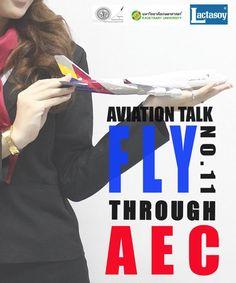 "Aviation Talk ครั้งที่11 วันที่ 26 มกราคม 2556  ""Fly through AEC เปิดประตูสู่น่านฟ้าอาเซียน""  on.fb.me/WkeWng Aviation, University, Poster, Colleges, Movie Posters, Aircraft"