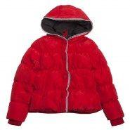 Meisjes winterjas Bengh rood donsjack