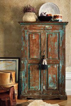 Reciclar un armario ropera en un mueble para el salon