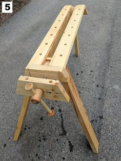 Folding Portable Workbench With Quick Release Vise - All
