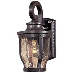 """Merrimack Collection 12 1/4"""" High Outdoor Wall Light -"""
