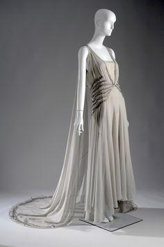 Madeleine Vionnet. Vestido de 1938