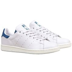 wholesale dealer fc1e6 d4cf1 Baskets Adidas Stan Smith Originals Blanc Bleu Marine -  LaBoutiqueOfficielle.com