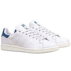 adidas stan smith blanche bleu