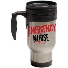 """Love What You Do – Emergency Nurse"" Hot/Cold Travel Mug"