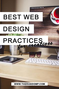 Best web design practices for creatives: http://therandomp.com/blog/best-web-design-practices-for-creatives
