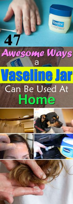 A jar of the Vaseline Petroleum Jelly could be that useful-- You'll be surprised after learning these 47 amazing Vaseline Uses!