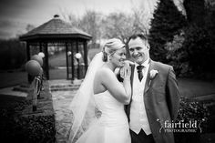 Mytton Fold wedding reception - romantic bridal and groom