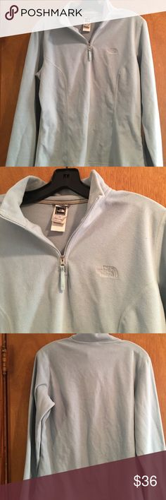 North face fleece top North face fleece top half zip. Used and in good condition super warm. Looking for a new home. 🚫🚫No low ball offers and no trades 🚫🚫 North Face Jackets & Coats