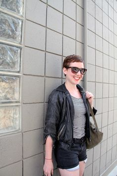 Street Style Huntress from Downtown Calgary #fashion #yyc