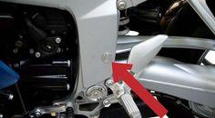 BMW K1300S Frame Cover