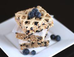 Blueberry Maple Krispy Treats