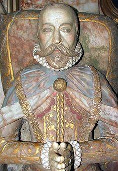 Sir Francis Knollys, husband of Catherine Carey, daughter of Mary Boleyn