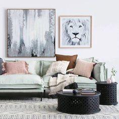 Living room goals. Pin for inspo! ♡