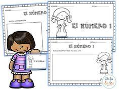 Aprendo los números Ruth Bible, Sunday School Kids, Gods Love, Homework, Education, Learning, Cards, Kids Bible, Kids Ministry