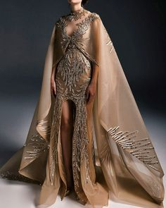 """aishwaryaaraiii: """"Top 8 Looks from Marwan & Khaled Fall/Winter Haute Couture """" My wardrobe when I rule the world. Elegant Dresses, Nice Dresses, Couture Dresses, Fashion Dresses, Fantasy Gowns, Mode Inspiration, Beautiful Gowns, Costume Design, Couture Fashion"""