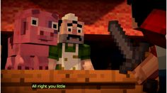 Minecraft: Story Mode Guide -- Episode 1 (Part Two) | Minecraft: Story Mode