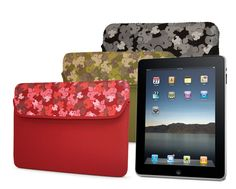 Colorful iPad sleeves for any occasion by @MobileEdge http://www.mobileedge.com/sumo-camo-apple-ipad-sleeve.html