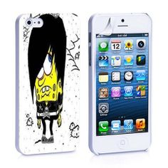 Emo Spongebob iPhone 4, 4S, 5, 5C, 5S Samsung Galaxy S2, S3, S4 Case – iCasesStore