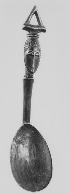 Baule spoon, Côte d'Ivoire