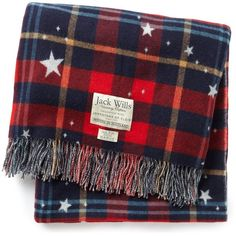 Jack Wills Chellington Blanket found on Polyvore