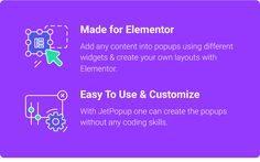 Buy JetPopup — Popup Addon for Elementor by ZEMEZ on CodeCanyon. JetPopup Overview JetPopup is the plugin for Elementor allowing to create popup templates on different topics and set. Layout Design, Web Design, User Interface Design, Popup, Web Development, Create Your Own, Wordpress, Coding, Positivity