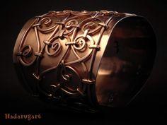 Artizani romani| Mestesugari romani | Bratara handmade medievala din cupru