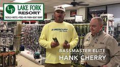 Hank Cherry's Jerk Bait tips at Lake Fork Resort Lake Fork, Free Gas, Bait, Tips, Counseling