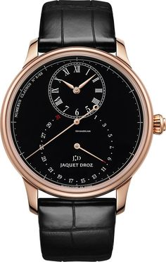 Jaquet Droz [NEW][LTD] Grande Seconde Deadbeat 43mm J008033201 (Retail:CHF 29000) Special Price:HK$168,000