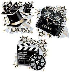 Hollywood Themed Cutouts - Pack of 3 by Parteaz, http://www.amazon.co.uk/dp/B001GJ9RJ4/ref=cm_sw_r_pi_dp_oHDlsb045QC2M