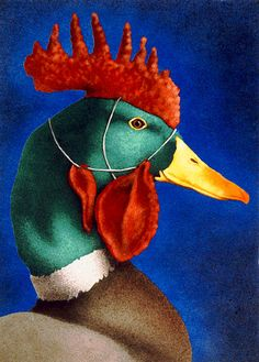 Will Bullas - CLUCKS UNLIMITED -  LIMITED EDITION PRINT Published by the Greenwich Workshop