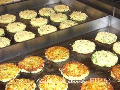 Grated Apples on the Plancha - Recipes and Cuisine à la Planch . - Grated grilled apples – Recipes and Plancha Cooking Vegan Menu, Vegan Vegetarian, Grilled Apple Recipe, Seafood Recipes, Chicken Recipes, Good Food, Yummy Food, Tacos, Pause
