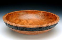 Large Ambrosia Maple Salad Bowl   Barbara Crockett Woodturning