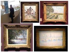"""""""Monet lost in translation"""" Fantastisk flot og interessant udstilling som Maria og jeg var inde og se på Aros. Her et par hightlight. Monet og hans samtid tager gæsterne med på en rejse gennem den impressionistiske kunst. Som gæst vil man på denne rejse opdage, hvorfor værkerne stadig er interessante og relevante for os i dag."""