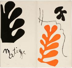 Cover maquette for the exhibition catalogue*, 'Henri Matisse: Lithographies French, Gouache on paper, cut and pasted, x cm. * Matisse's cut-outs Henri Matisse, Matisse Kunst, Matisse Art, Matisse Prints, Art Inspo, Kunst Inspo, Inspiration Art, Art And Illustration, Tate Modern Exhibitions
