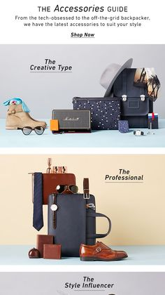 From the tech-obsessed to the off-the-grid backpacker, we have the latest accessories to suit your style. Shop now > 3.14 east dane